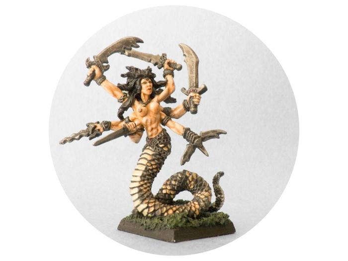 Reaper Miniatures 02633 Vandorendra, Snake Demon